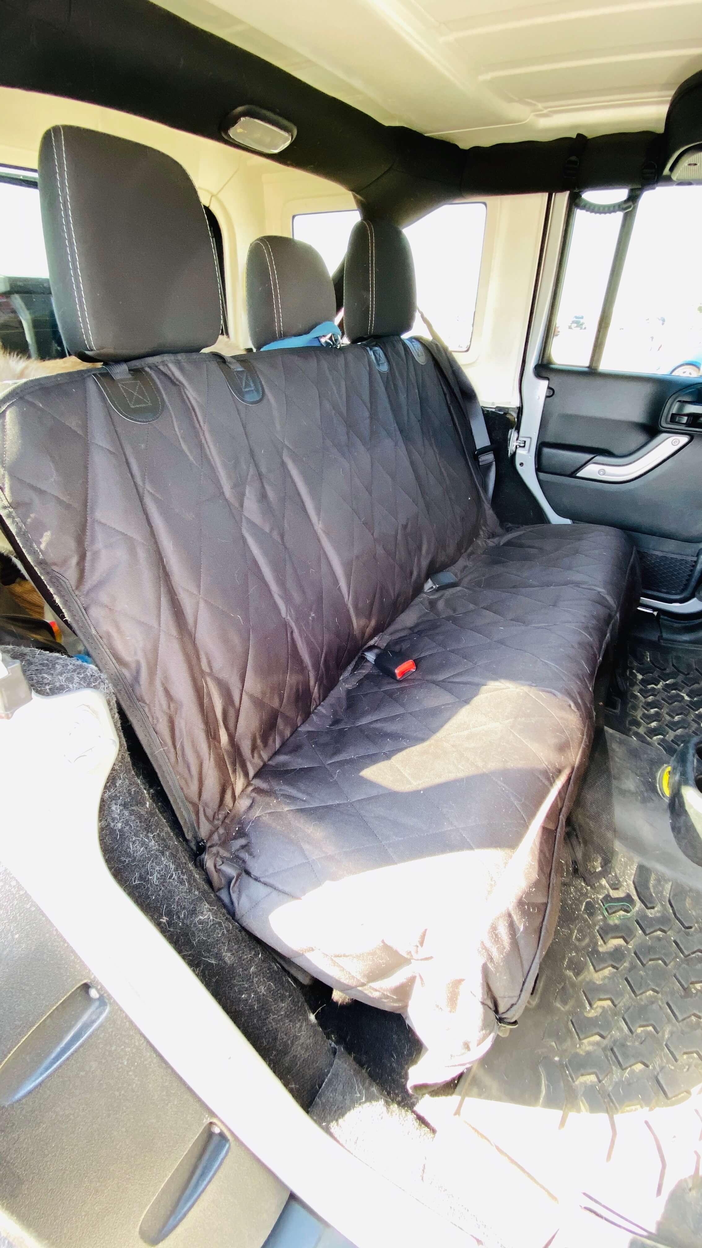 後部座席用シートカバー