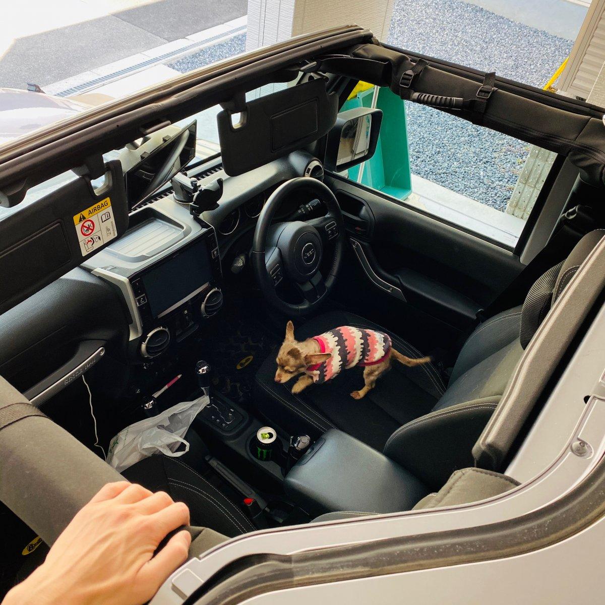 ジープラングラーオープンカー
