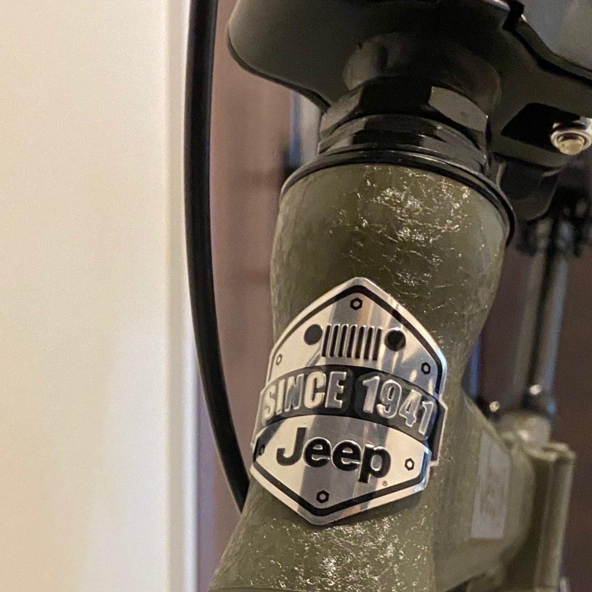 ジープ折りたたみ自転車